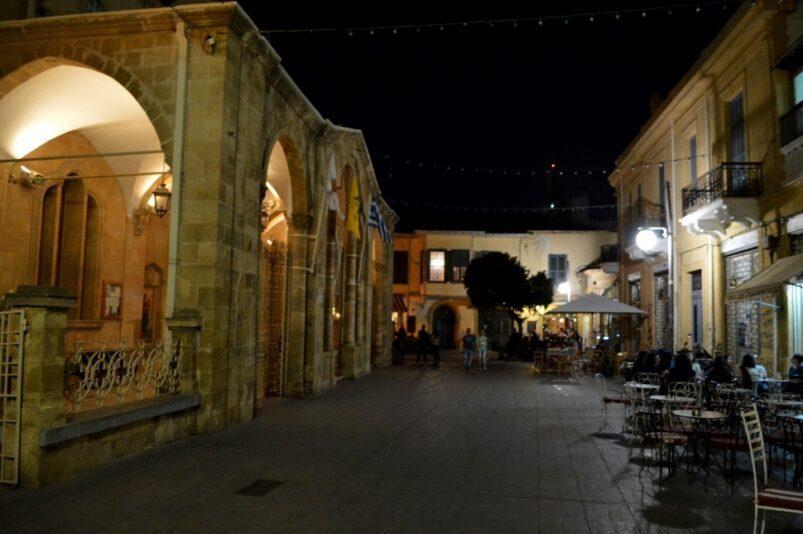 Piazza Faneromeni a Nicosia, Cipro.
