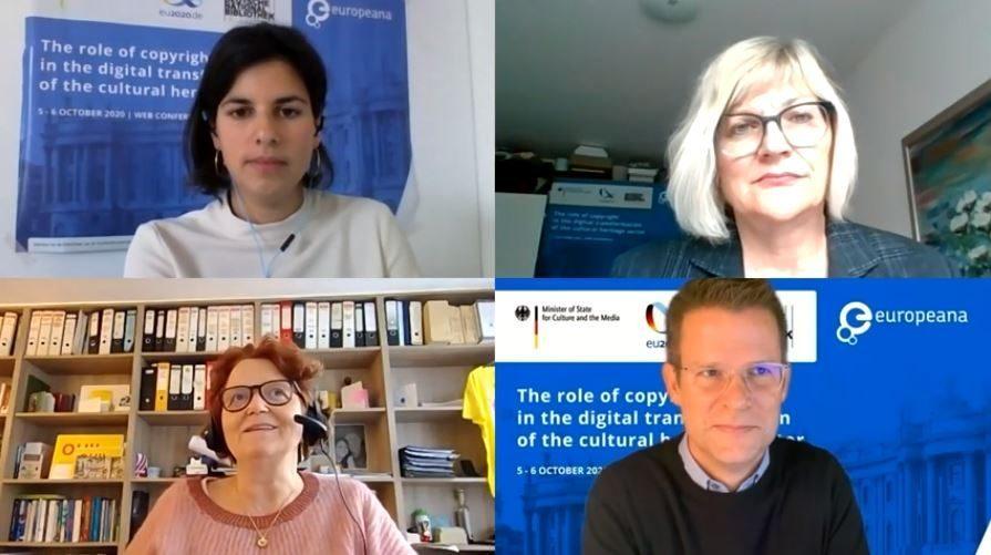 Roundtable with Ariadna Matas, Dorothea Zechmann, Anne Bergman and Paul Keller
