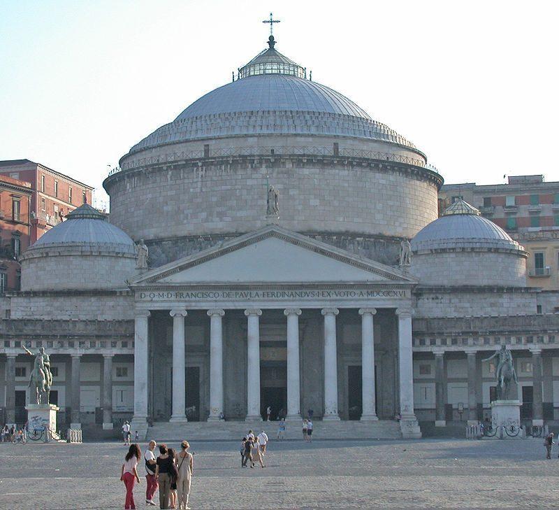 San Francesco di Paola, Naples, Italy.