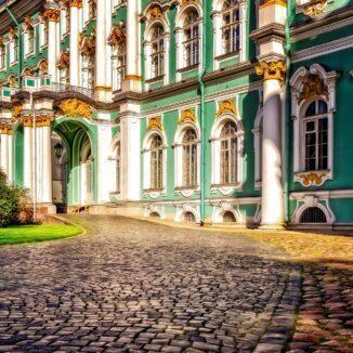 Hermitage Museum, St. Petersburg, Russia.
