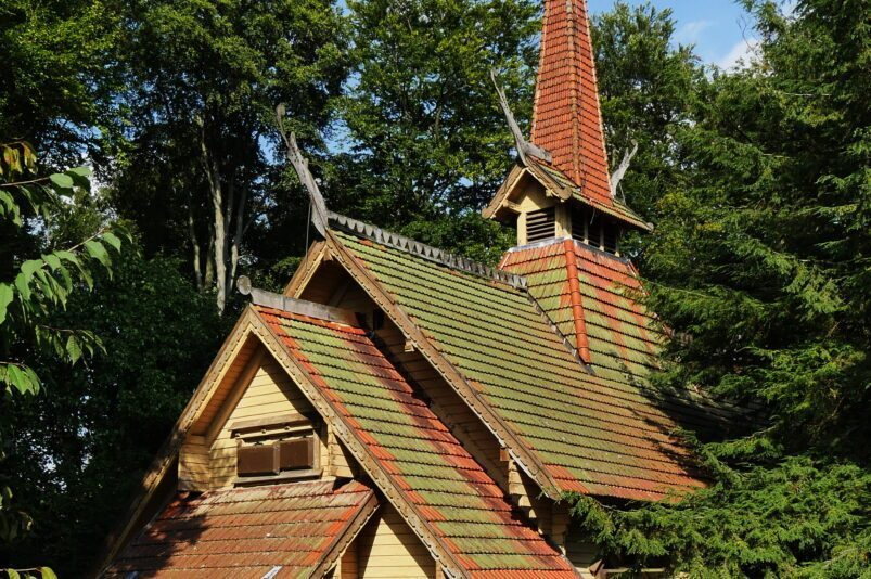The wooden church in Stiege, Germany