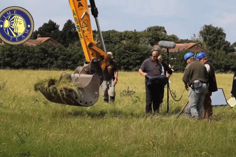 Time Team excavation