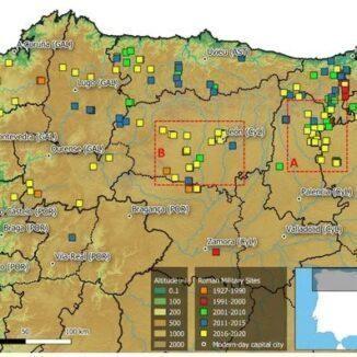 Roman camps Spain