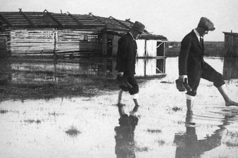 Flooding in Southern Ostrobothnia region in Finland in 1934
