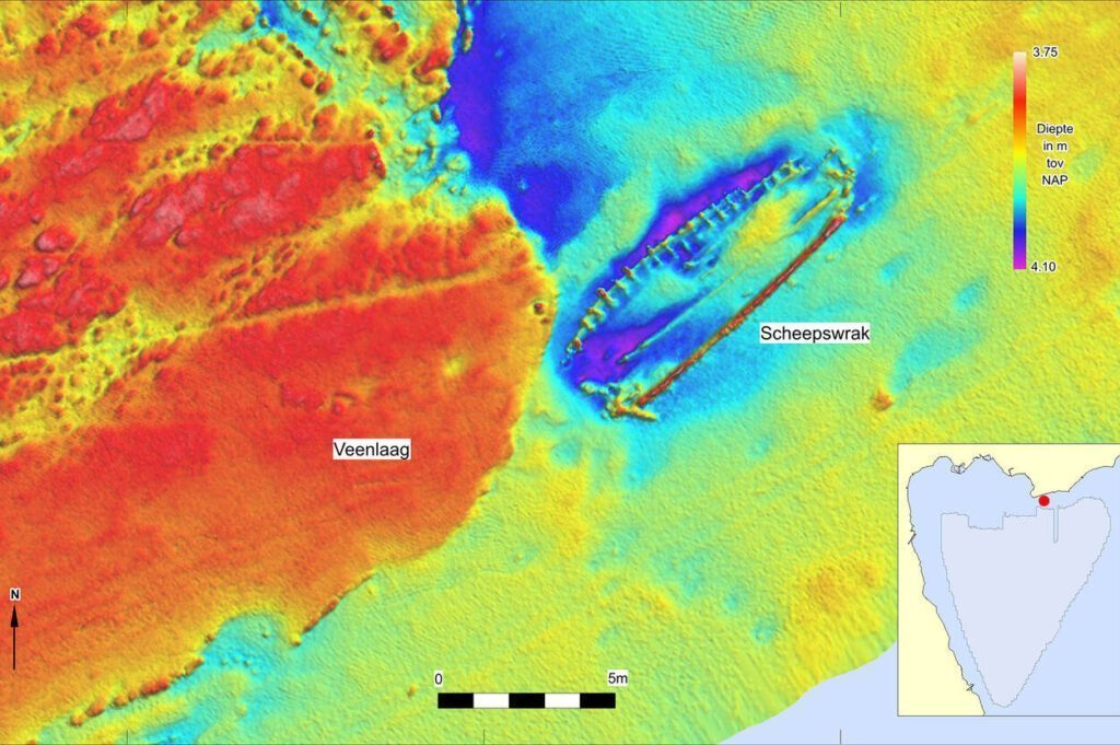 underwater scan shipwreck