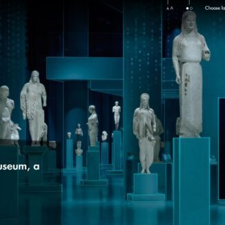 The Digital Acropolis Museum website
