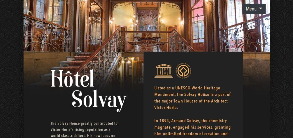 The Hotel Solvay website