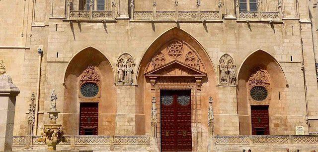 Burgos Cathedral door