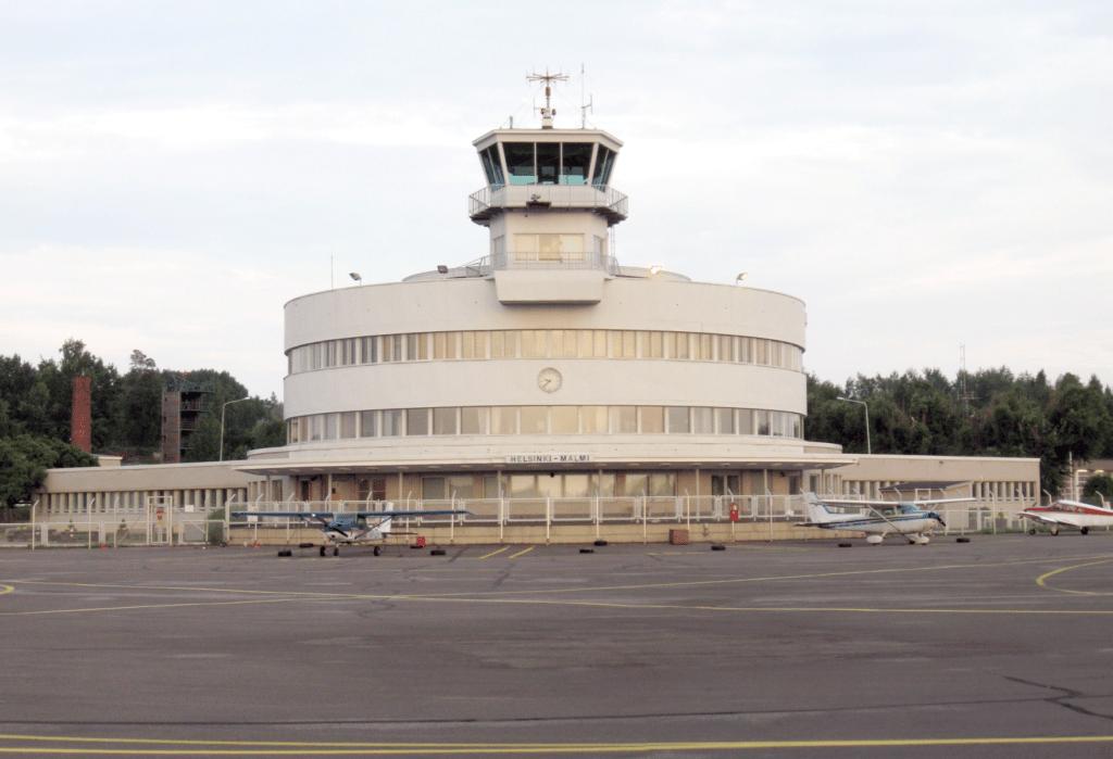 Malmi Airport in Helsinki, Finland