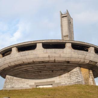 Buzludzha Monument in Kazanlak, Bulgaria