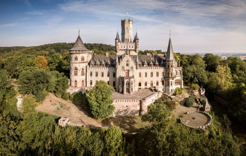 Schloss Marienburg in Germania