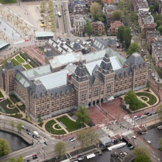 The Rijksmuseum in Amsterdam, the Netherlands