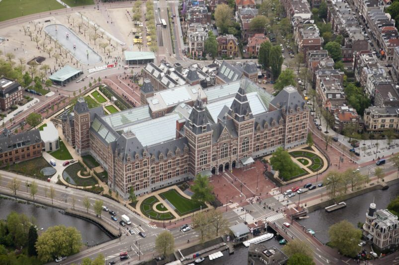 Il Rijksmuseum di Amsterdam, Paesi Bassi