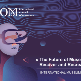 The banner for 2021's International Museums Day.