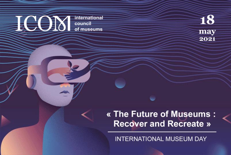 La bannière de la Journée internationale des musées 2021.