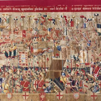 One of the tapestries of Pastrana