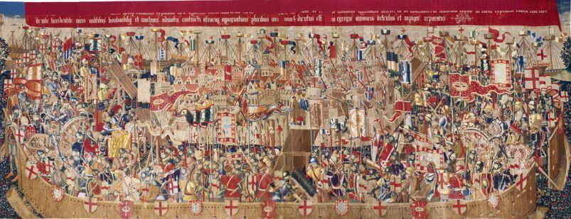 Une des tapisseries de Pastrana