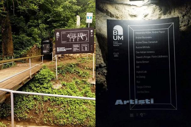 Musée souterrain de Brasov. Images : Elena Cautiș