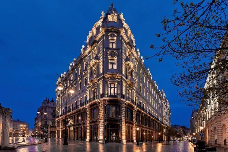 Matild Palace Budapest. Image: Matild Palace Budapest via Facebook