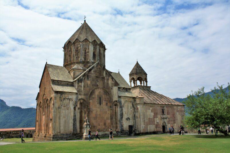 The Gandzasar Monastery in Nagorno-Karabakh in 2010. Image: Alaexis Wikimedia CC BY-SA 3.0
