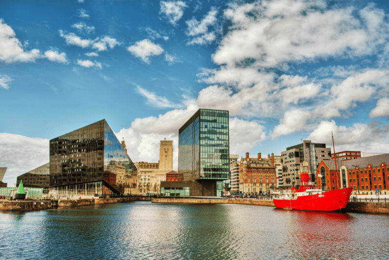 Liverpool. Afbeelding: SilvanBachmann Canva CC0