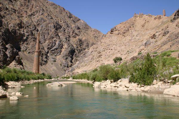Le minaret de Jam, Afghanistan. Image : David C. Thomas via Wikimedia CC BY-SA 2.5