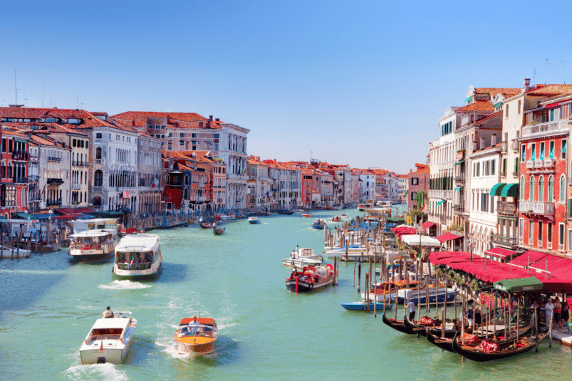 Venise. Image: Collection Michal via Canva CC0