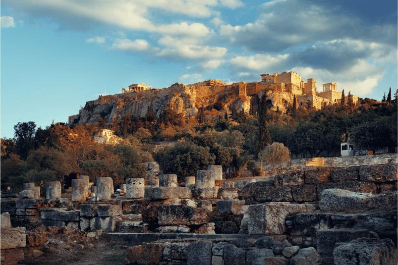 Acropole à Athènes, Grèce. Image: lapin75_cav via Canva CC0