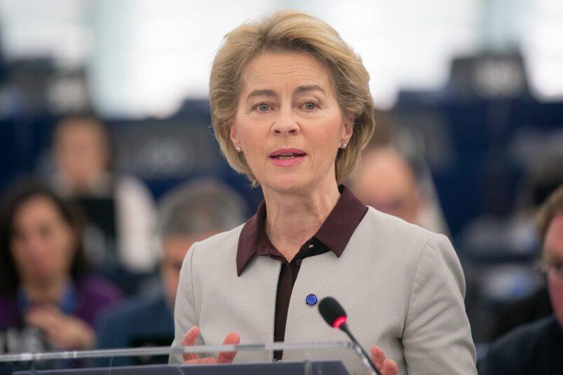 Ursula von der Leyen. Image: European Parliament via Flickr