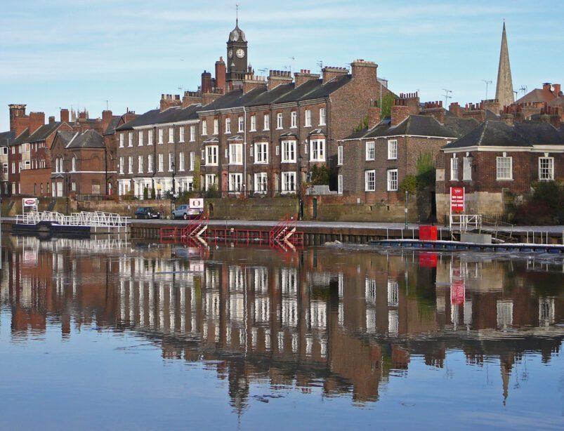 Rivière Ouse à York, Angleterre. Image: Tim Green via Wikimedia CC BY 2.0