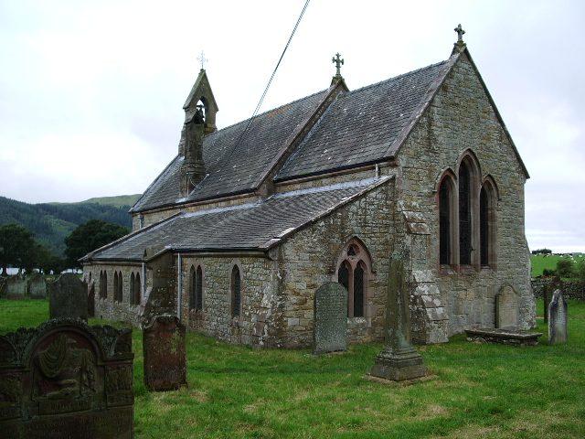 St Bega's kerk in de buurt van Bassenthwaite Lake, Engeland. Afbeelding: Alexander P Kapp via Wikimedia CC BY-SA 2.0