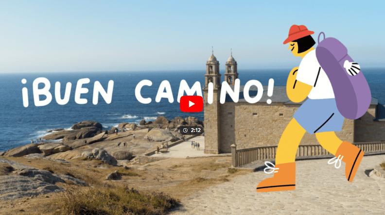 The '¡Buen Camino! project. Image: Google Arts & Culture